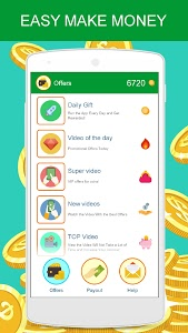 screenshot of Earn Real Money Earning Cash version 1.0