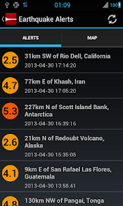 Download Earthquake Alerts Tracker 1.3.3 APK