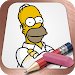 Download Easy Draw: Homers Family 1.03 APK