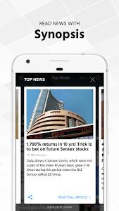screenshot of Economic Times : Market News version 3.4.7