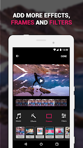 screenshot of ?Efectum – Slow Motion, Reverse Cam, Fast Video version 1.9.6