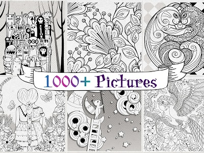 Download Coloring Book for Adults | Adult Coloring Book App 2.7.3 APK