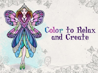 screenshot of Coloring Book for Adults | Adult Coloring Book App version 2.7.3