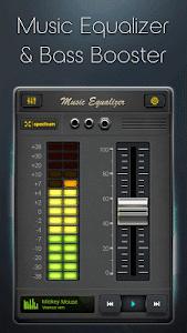 screenshot of Equalizer - Music Bass Booster version 2.0.8.2