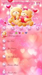 Download (FREE) GO SMS LOVE TEDDY THEME 3.3.1 APK