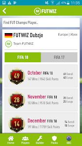 screenshot of FUTWIZ version 3.0.0