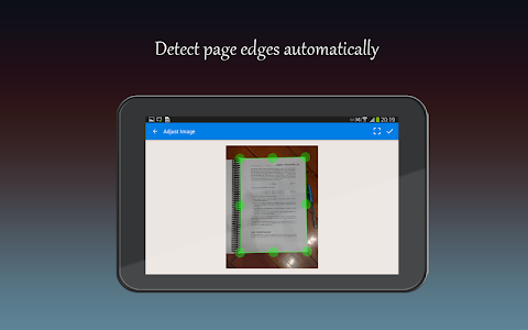 screenshot of Fast Scanner : Free PDF Scan version 4.0.0