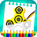 Download Fidget Spinner Kids Coloring Book Pages 1.9 APK