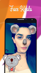 screenshot of Filters for changing cat face & dog face version 2.5.8
