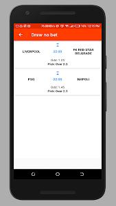 screenshot of Football Tips - Expert sports tips version 1.4
