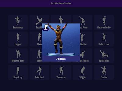 Download Fortnite - Dance Emotes Videos 0.6 APK