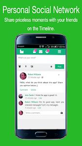 screenshot of Freе Line Messenger App tipѕ version 1.0