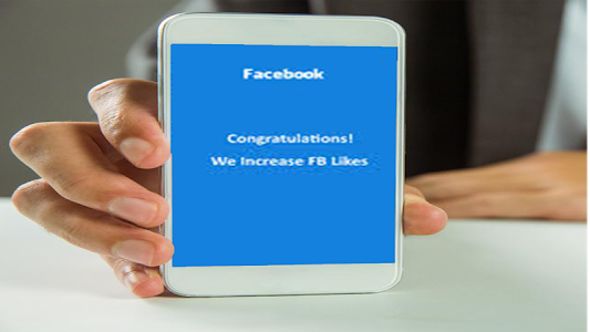 screenshot of Free FACE LIKES prank version facebook