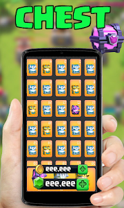 screenshot of Free Gems clash royale Simulated version 1.0