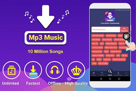 screenshot of Free Music Downloader - Mp3 Music Download version 1.1.2