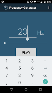 Download Frequency Sound Generator 2.3 APK