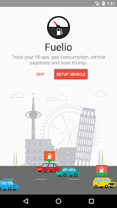 screenshot of Fuelio: Gas log & costs version Varies with device