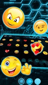 screenshot of Future Tech Keyboard version 10001002