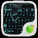 Download GO Keyboard Black Cyan Theme 3.7 APK