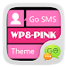 Download GO SMS Pro WP8 PinK ThemeEX 1.0 APK
