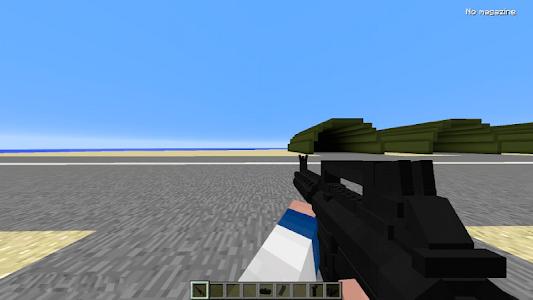 Download GUNS mod for Minecraft PE 1.5 APK