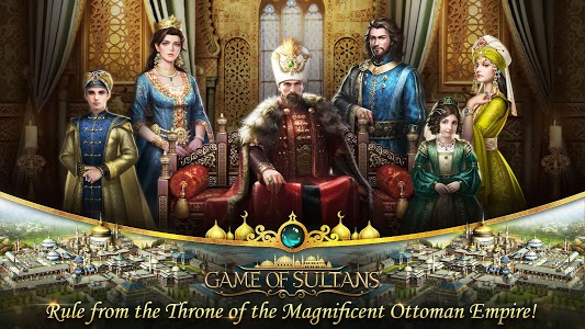 screenshot of Game of Sultans version 1.6.02