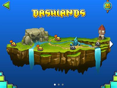 screenshot of Geometry Dash World version 1.03