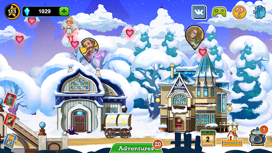 screenshot of Ghost Town Adventures version 2.24.3