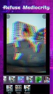 Download Glitchy - psychedelic camera & VHS art 1.7.2 APK