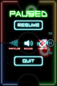 screenshot of Glow Hockey 2 version 1.0.9