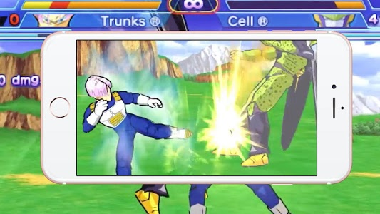screenshot of Goku Warriors: Shin Budokai version 1.0.2