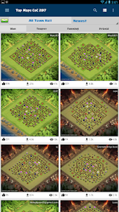 Download Top ★ Clash Maps for COC v.1.2.5 APK