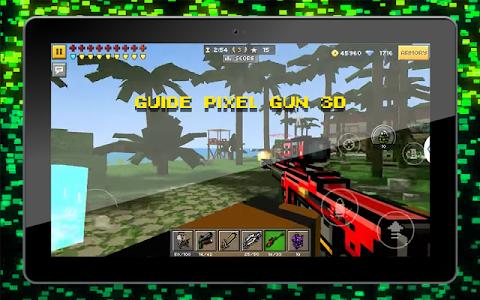 Download Guide for Pixel Gun 3D 1.0 APK
