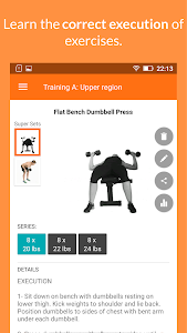 Download Gym WP - Dumbbell, Barbell and Supersets Workouts 4.0 APK