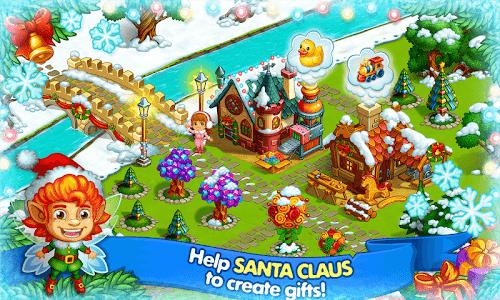 Download Farm Snow: Happy Christmas Story With Toys & Santa 1.48 APK