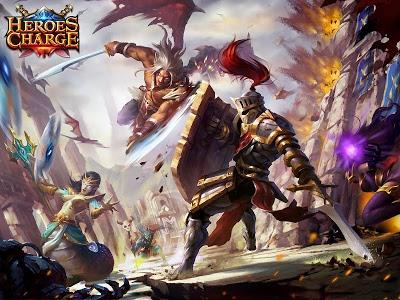 screenshot of Heroes Charge version 2.1.94