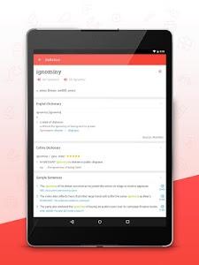 screenshot of U-Dictionary: English offline version 2.8.0