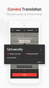 screenshot of U-Dictionary: Translate & Learn English version Varies with device