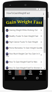 Download How To Gain Weight Fast 3.0 APK