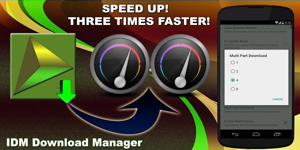 Download IDM Download Manager ★★★★★ 6.26 APK