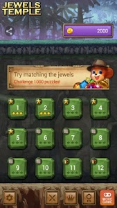 screenshot of Jewels Temple Quest version 1.2.3