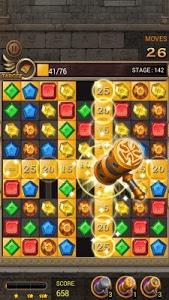 screenshot of Jewels Temple Quest version 1.2.4