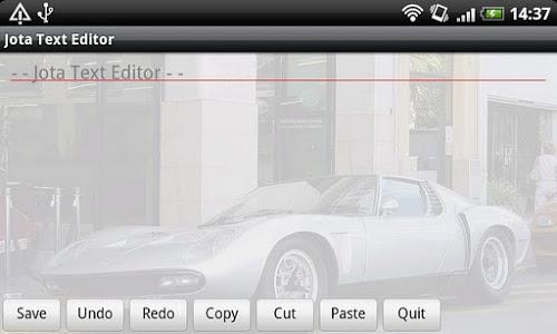 Download Jota Text Editor 0.2.39 APK