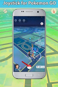 screenshot of Joystick & Gamepad for Poke Go prank version 1.0