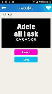 screenshot of Karaoke Sing and Record version 1.0.11