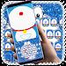 Download Kawaii Blue Cat Diamond Keyboard 10001001 APK