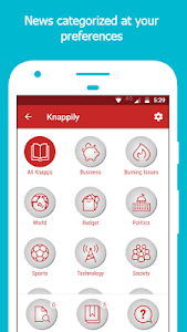 screenshot of Knappily - The Knowledge App version 1.0.67