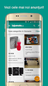 screenshot of Lajumate.ro version 1.7.30