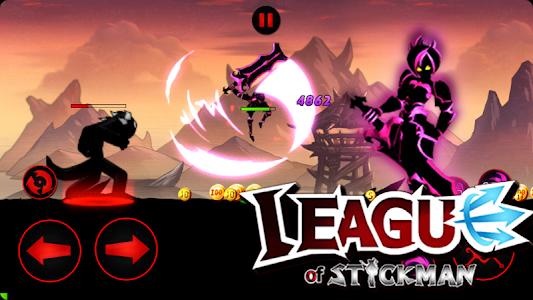 screenshot of League of Stickman Free- Arena PVP(Dreamsky) version 5.4.2