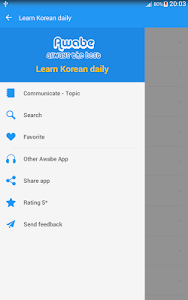 Download Learn Korean daily - Awabe 1.4.3 APK